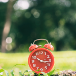 clock in foreground | how long should you meditate
