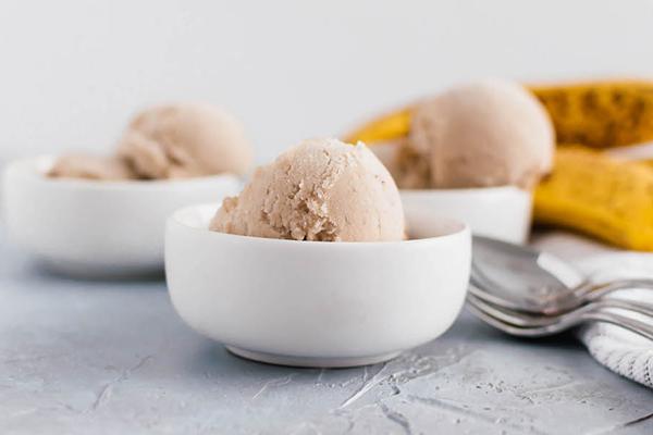 nice cream | how to use bananas as sweetener