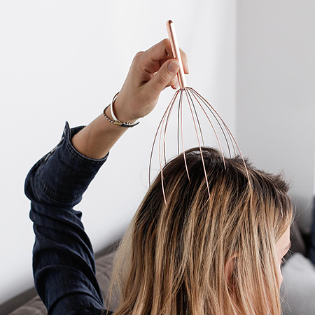 the container store head massager | self care essentials