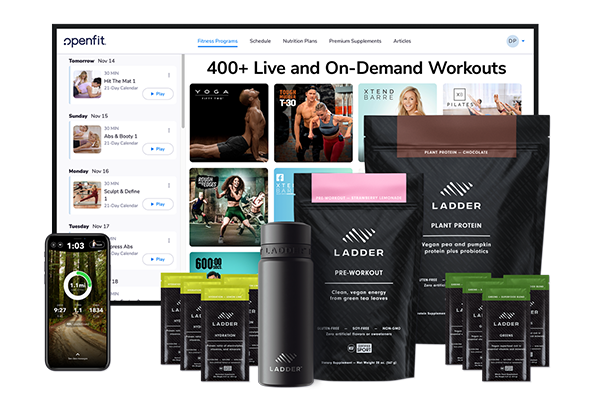 ladder and openfit bundle | ladder by openfit