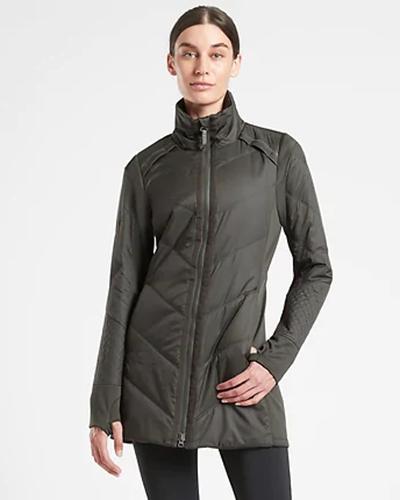 athleta rock ridge primaloft jacket | winter workout jackets