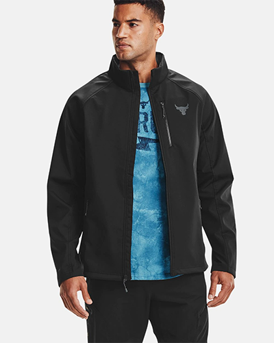 under armour project rock jacket | winter workout jackets