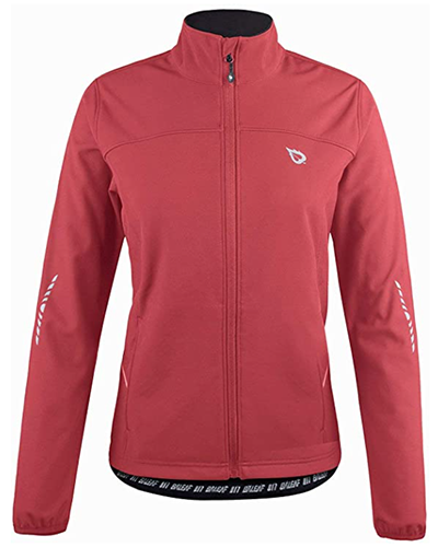 baleaf winter thermal softshell jacket | winter workout jackets