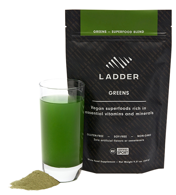 ladder greens | how andrea uses ladder supplements