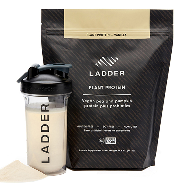 ladder plant protein | how andrea uses ladder supplements