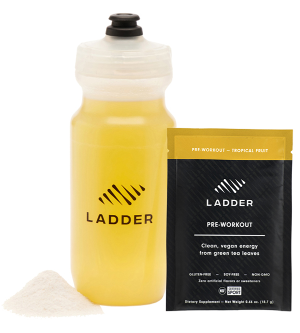 ladder pre workout | how andrea uses ladder supplements