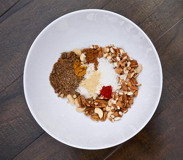 Lebron Granola Recipe - Ingredients