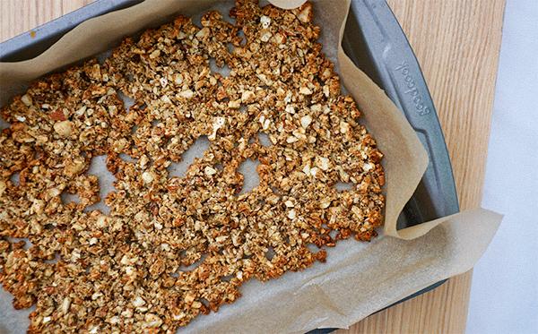 Lebron Granola Recipe - Pan