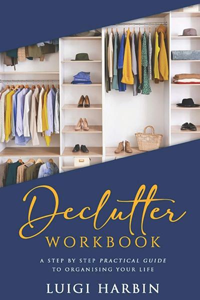 Declutter Workbook | best gifts for positivity