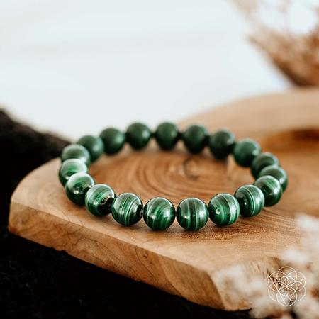 Malachite Bracelet | best gifts for positivity