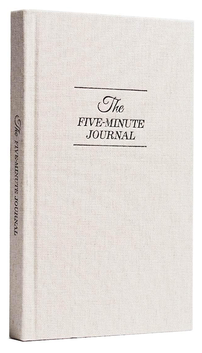 The Five Minute Journal | best gifts for positivity