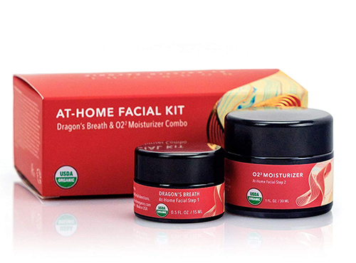Nourishe Organics At-Home Facial Kit | best gifts for positivity