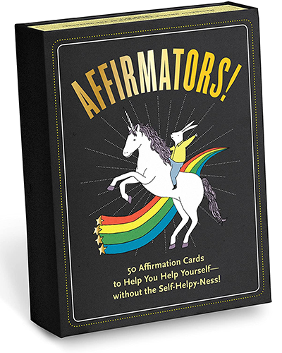 Affirmators! 50 Affirmation Cards | best gifts for positivity