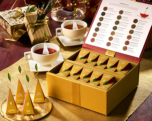 Luxury Teas and Tea Chest | best gifts for positivity