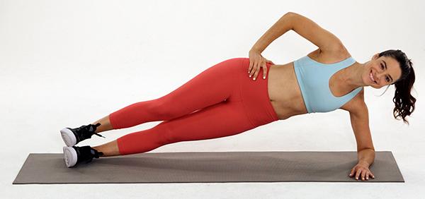 side plank | balance exercises