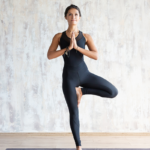 woman in tree pose | balance exercises