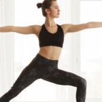 woman in yoga pose | yoga challenge
