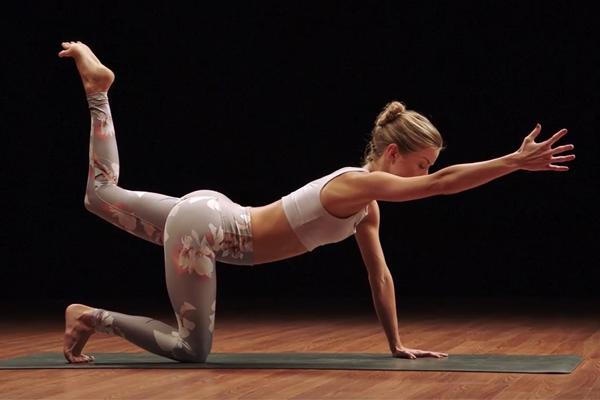 odette vinyasa flow | yoga challenge