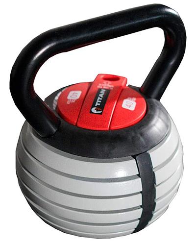 titan fitness kettlebell | adjustable kettlebell