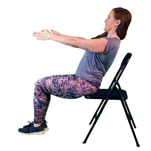 seated v sit | seated workouts