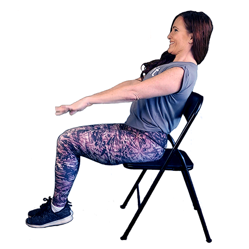 seated pilates hundred | seated workouts