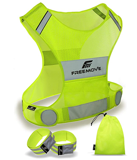 freemove reflective vest | night running gear
