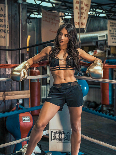 sophia rose resting while boxing | sophia rose profile