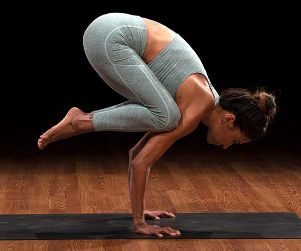 micki duran crow pose | yoga for self esteem