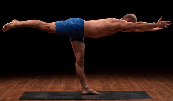 brent warrior 3 pose | yoga for self esteem