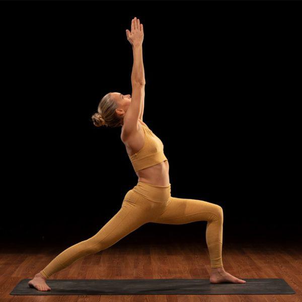 odette warrior 1 pose | yoga for self esteem