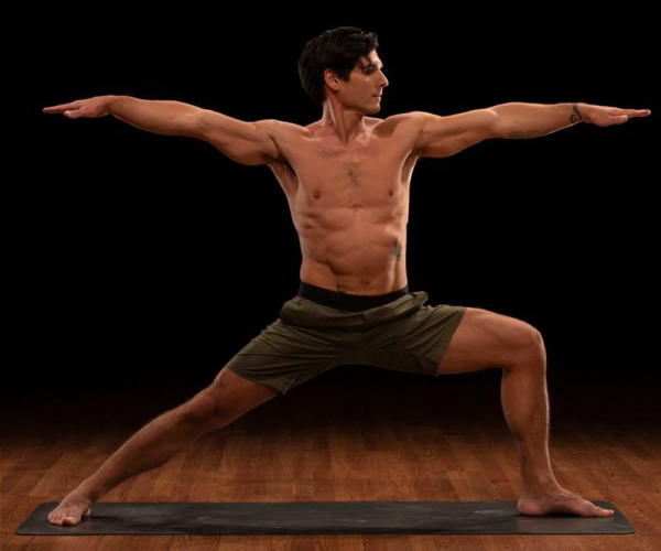 david warrior 2 pose | yoga for self esteem