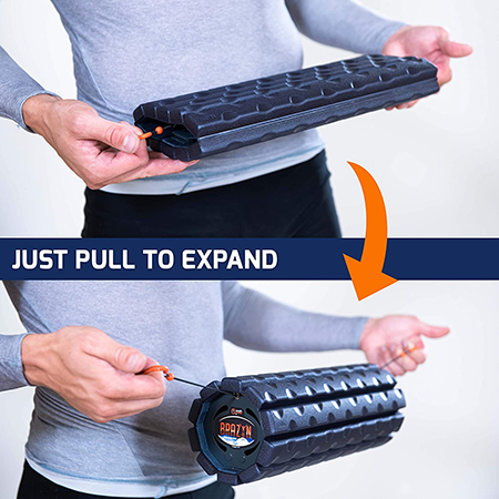 expandable foam roller | best stretching equipment