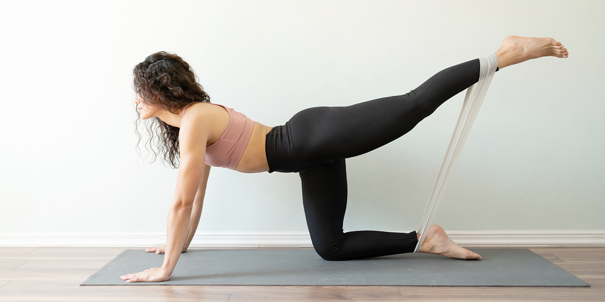 10 Resistance Band Leg Exercises | Openfit