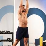 jordan morello doing dumbbell twist | abs and butt workout