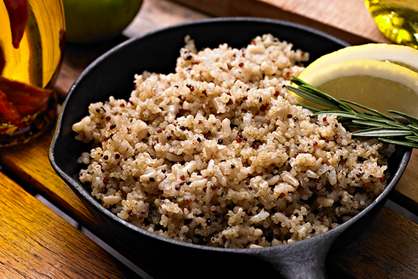 bowl of quinoa | what to eat after a workout