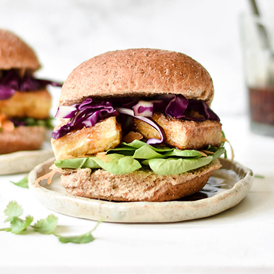 tofu burger | how to cook tofu
