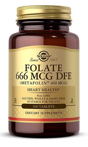 solgar folic acid supplement | folic acid vs folate