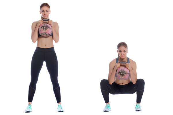 goblet squat progression | kettlebell squats