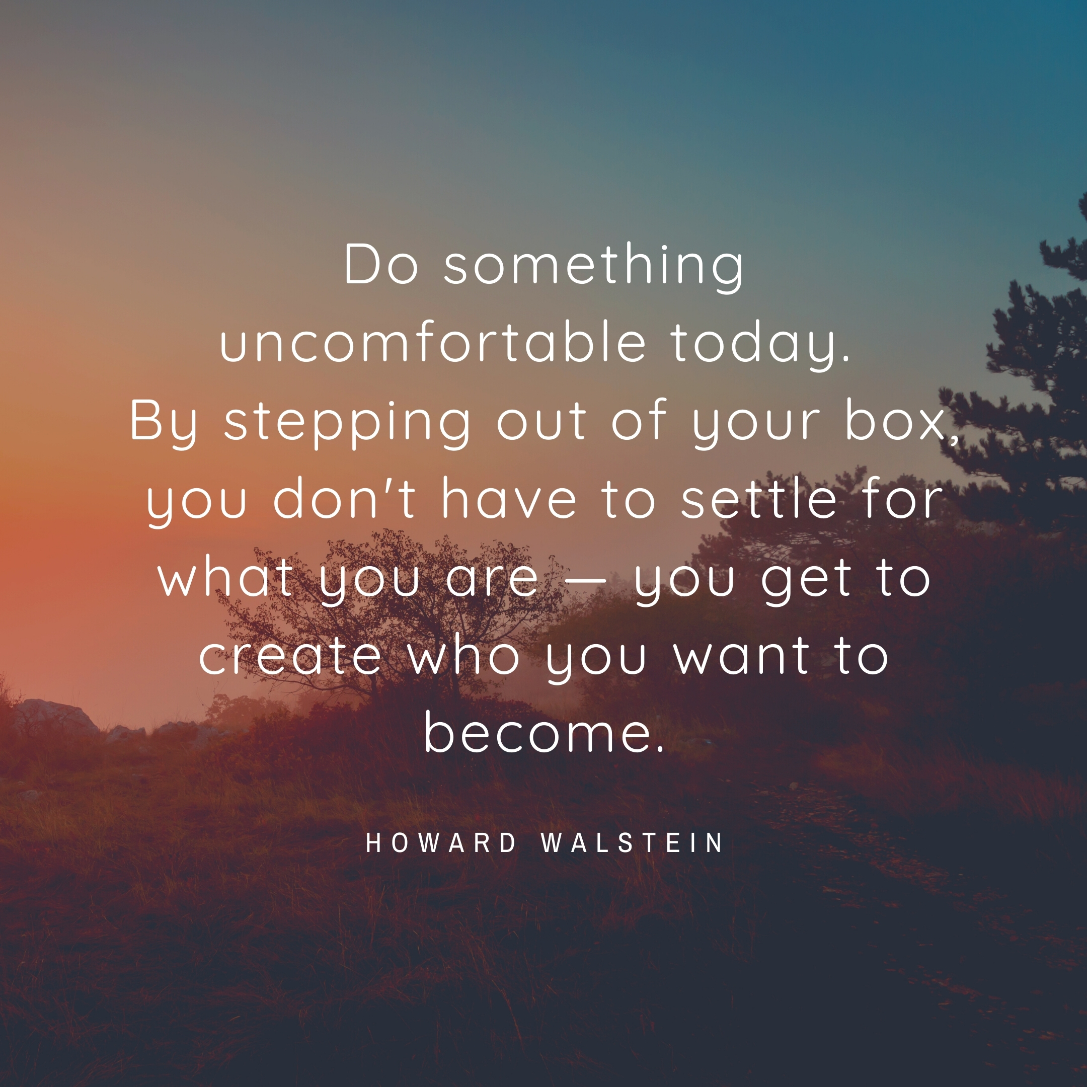 howard walstein quote   daily motivation