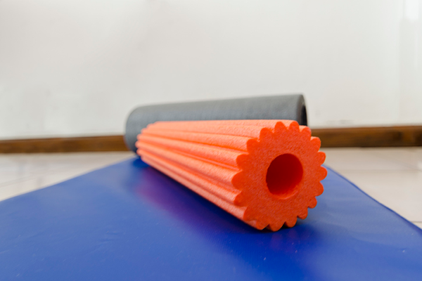 soft foam roller | openfit foam rolling classes