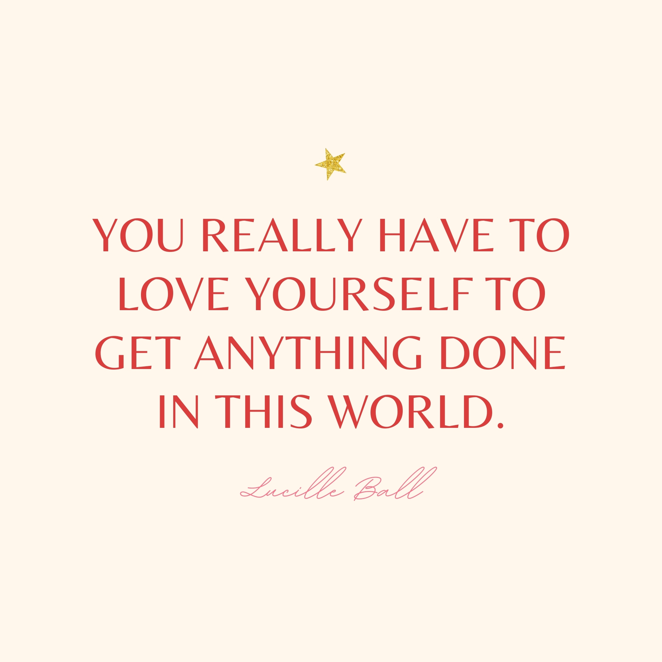lucille ball quote | monday motivation quotes