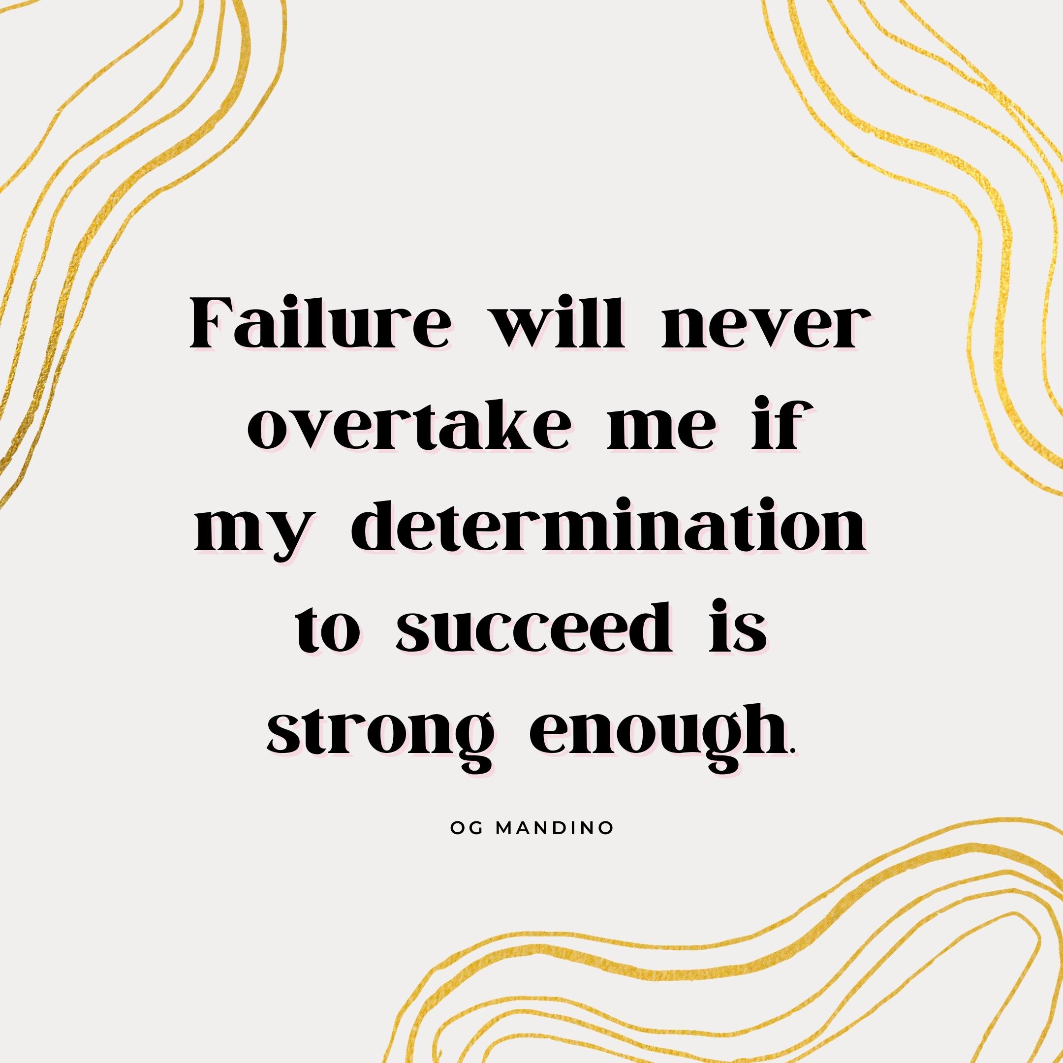 og mandino quote | monday motivation quotes