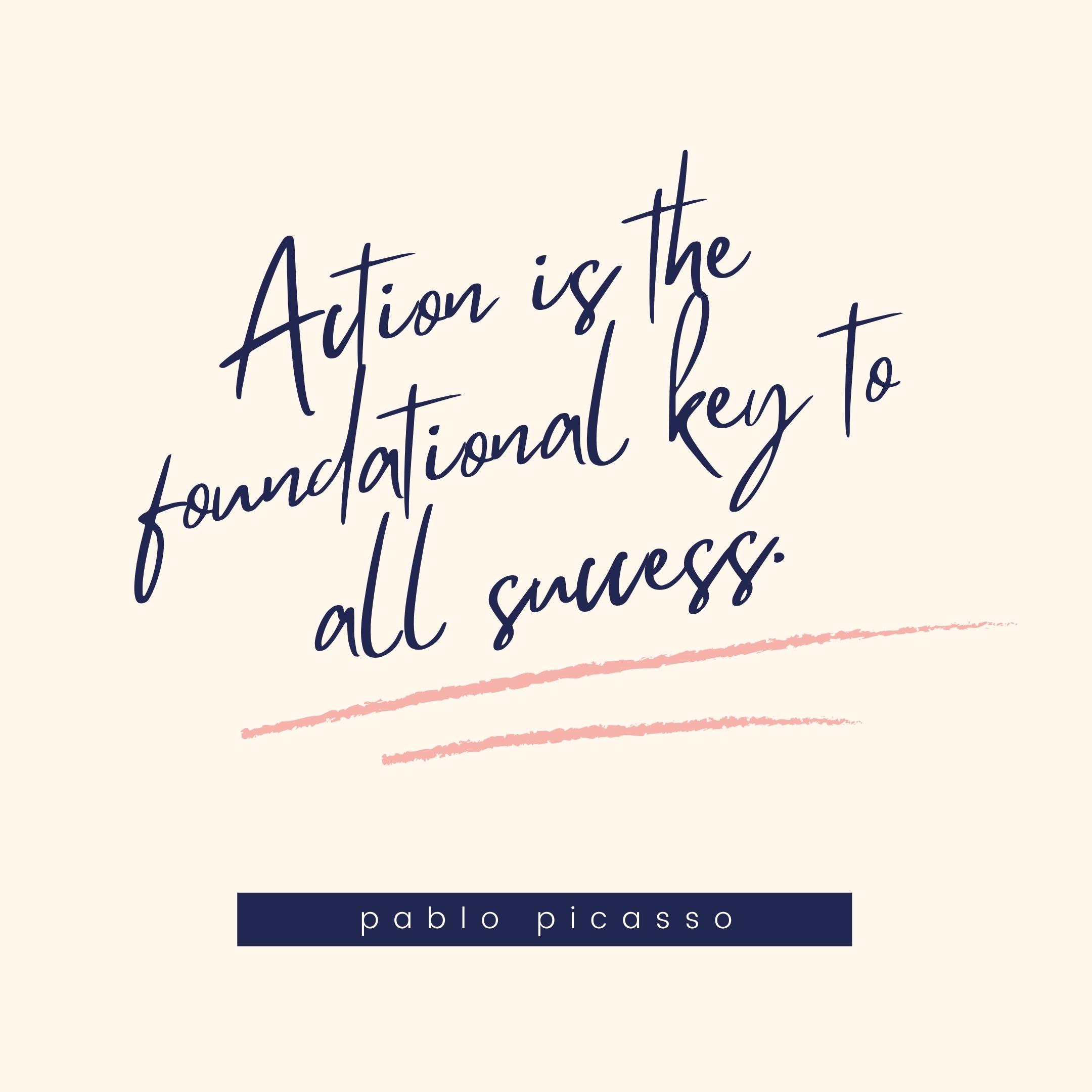 pablo picasso quote | monday motivation quotes
