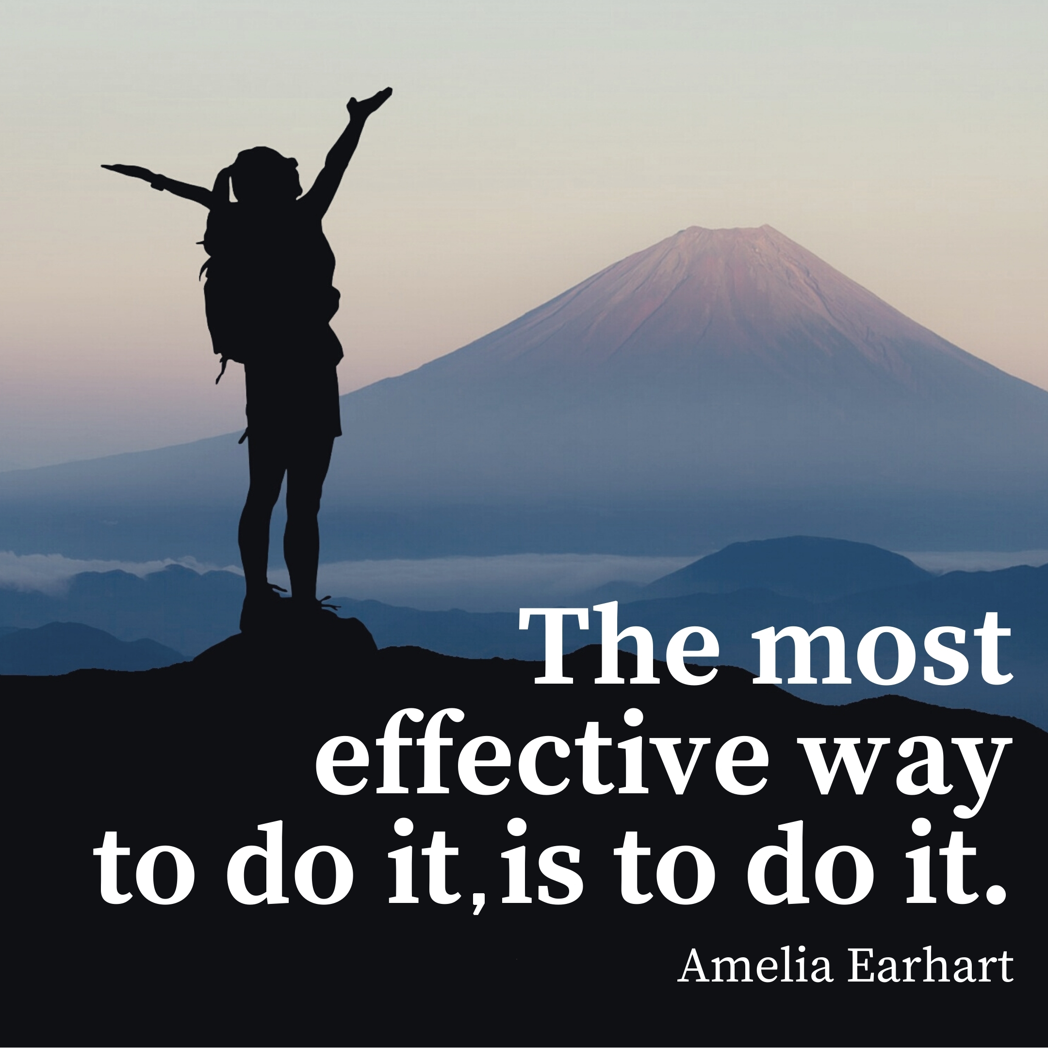 amelia earhart quote | monday motivation quotes