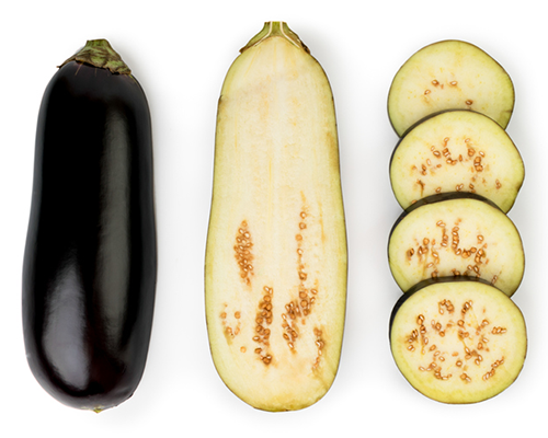 eggplant sliced 2 different ways | how to cook eggplant