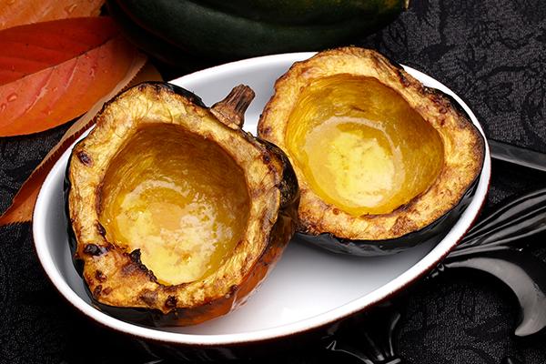 roasted acorn squash | how to cook acorn squash