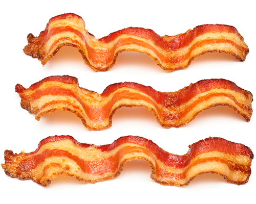 bacon strips | foods you should never eat