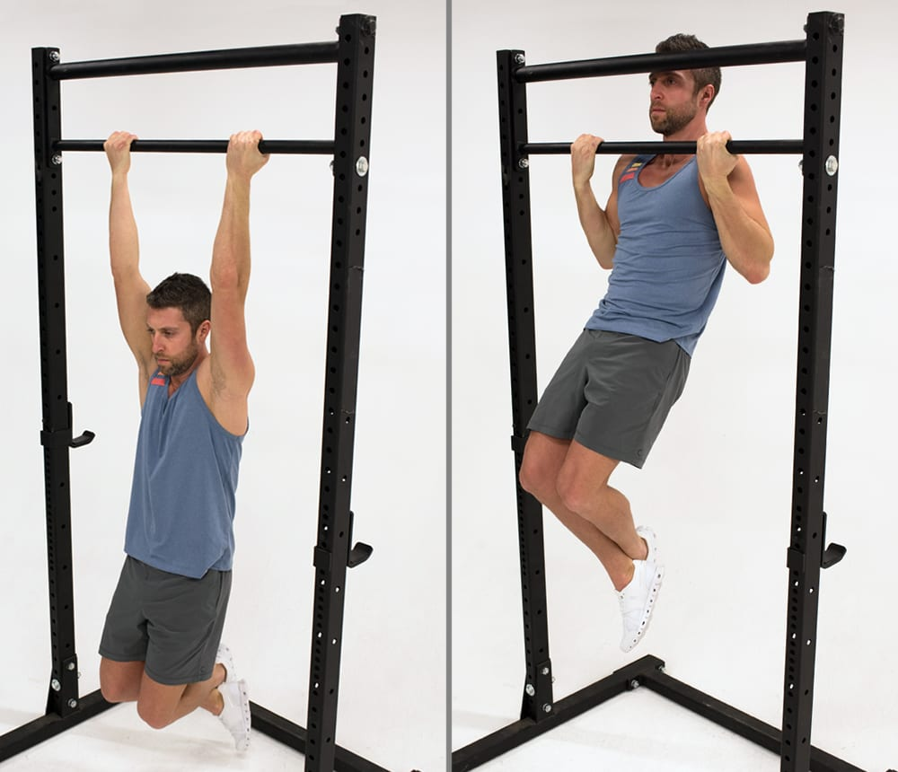 chin up demonstration | bodyweight bicep exercises