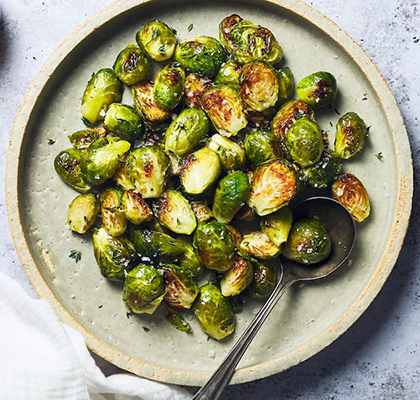 roasted brussels sprouts recipe | passover recipes