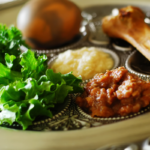 seder plate with food | passover recipes
